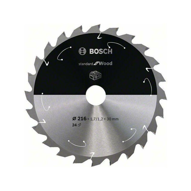 Bosch Lame de scie circulaire Standard for Wood pour scies sans fil 216 x