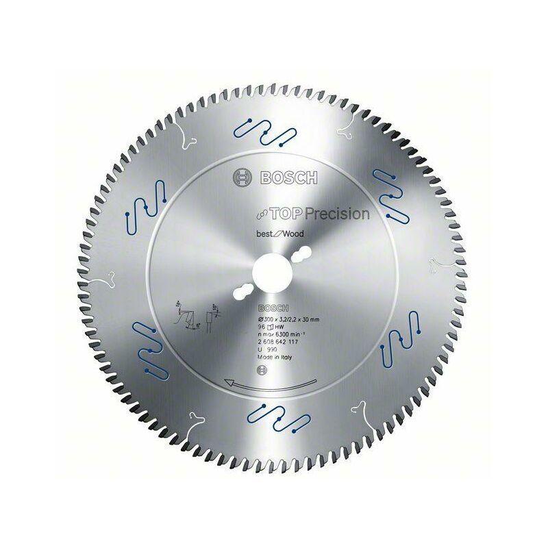 Bosch Lame de scie circulaire Top Precision Best for Wood, 450 x 30 x 4,4 mm,