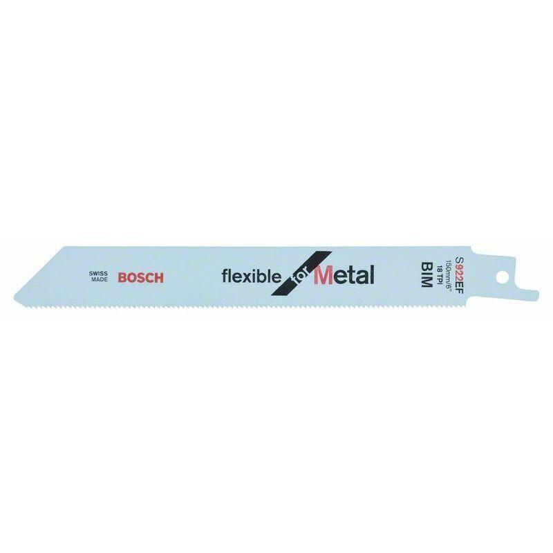 Dewalt - Bosch Lame de scie sabre S 922 EF Flexible for Metal - 2608656038