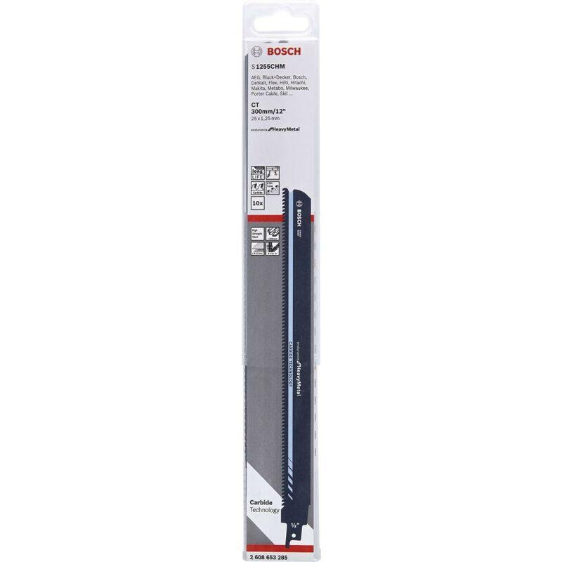 Robert Bosch Power Tools - Lame de scie sabre S 1255 CHM pack de 10 Bosch 1