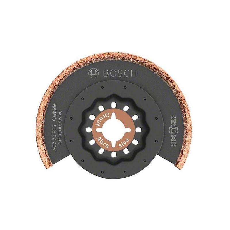 BOSCH Lame segment concretion carbure Ø70 STARLOCK - ACZ70RT5 (10 lames - 20%