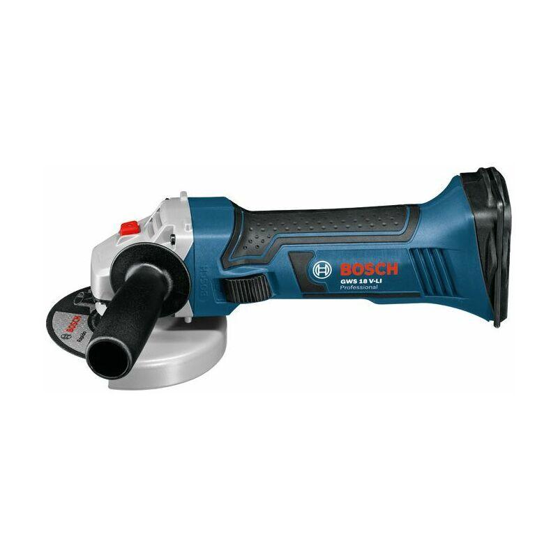 Bosch Professional Meuleuse angulaire sans fil GWS 18 V-LI (sans batterie ni