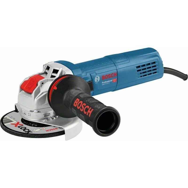 Bosch GWX 9-115 S - Meuleuse d'angle X-Lock dans coffret - 900W - 115mm