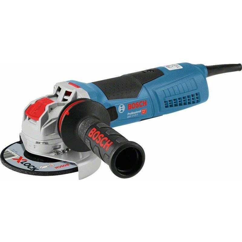 BOSCH Meuleuse d'angle Bosch GWX 17-125 S X-Lock - 1700W - 125mm - variable