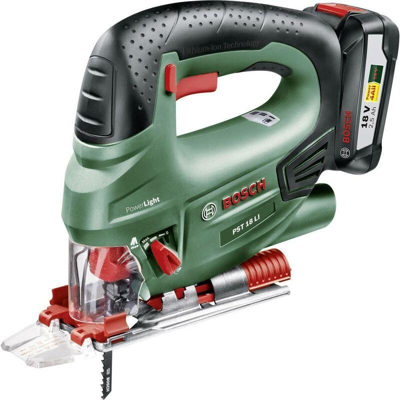 BOSCH HOME AND GARDEN Scie sauteuse pendulaire sans fil Bosch Home and Garden PST 18 LI 0603011004 +