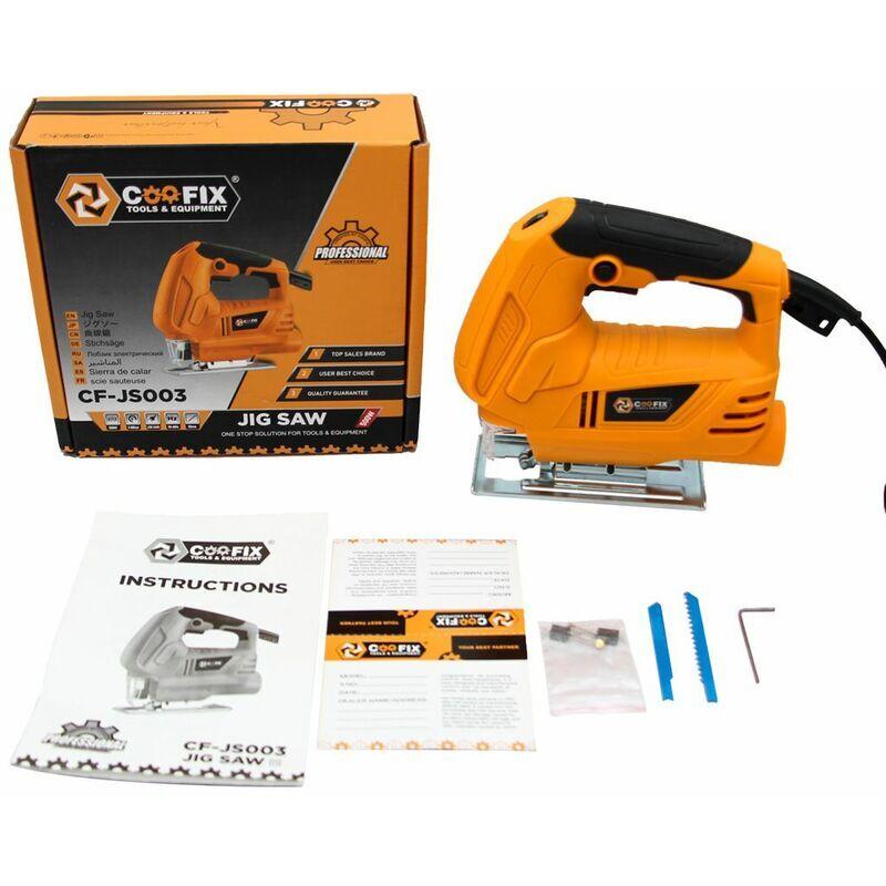 COOFIX Brand COOFIX 610 W scie sauteuse Laser multifonction scie électrique