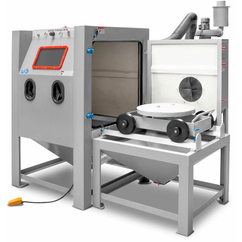 MW-TOOLS Cabine de sablage type injecteur 1350 l MW-Tools SCIN1400R