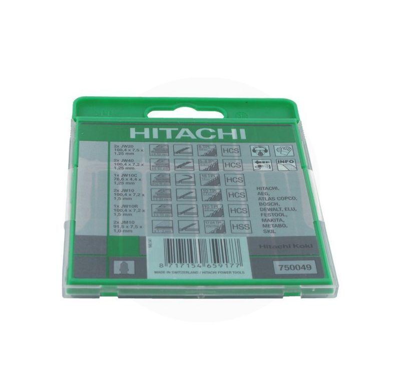 HITACHI Lame pour scie sauteuse Hitachi 10-pcs