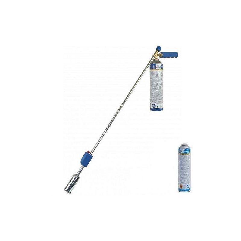 CFH PZ4000 Désherbeur à piézo et 1 cartouche de gaz