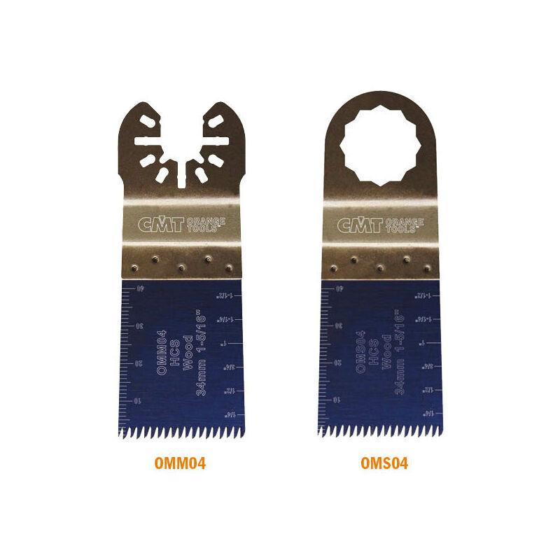 Cmt Orange Tools - OMM04-X50 50X 34MM LAME PLONGEANTE DE PRÉCISION À DENTURE «