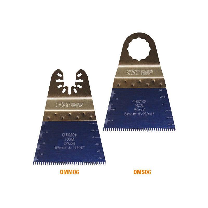 Cmt Orange Tools - OMS06-X5 68MM LAME PLONGEANTE DE PRÉCISION À DENTURE «