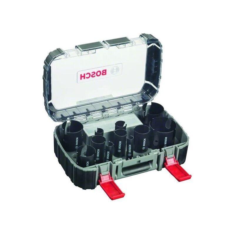 BOSCH Coffret 11 scie-trépans avec dents au carbure pour système Power change