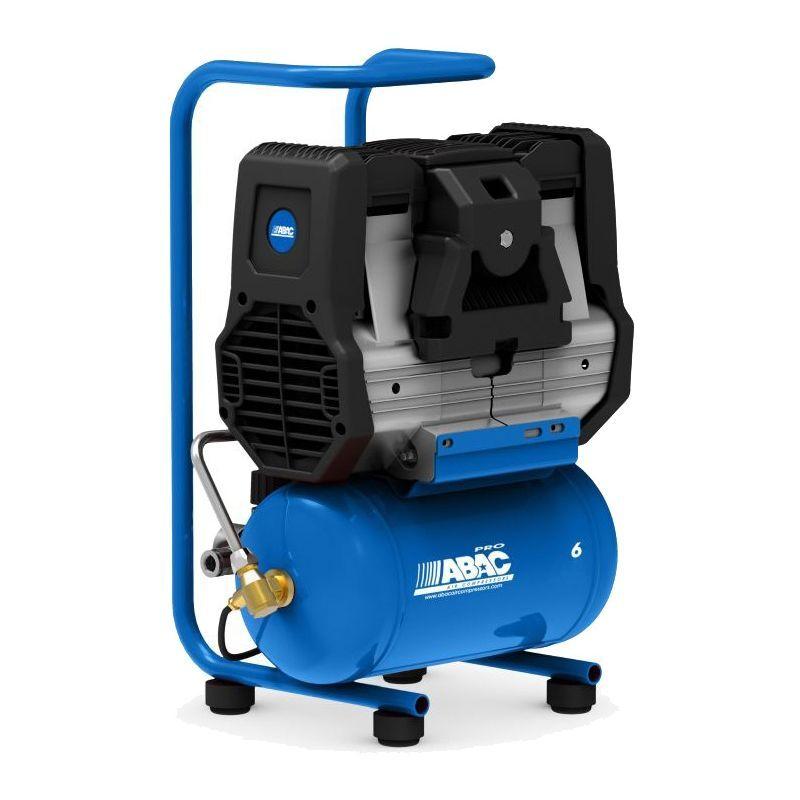 ABAC Compresseur d'air 6 litres, 1,5 CV Abac Start Silent OS15P