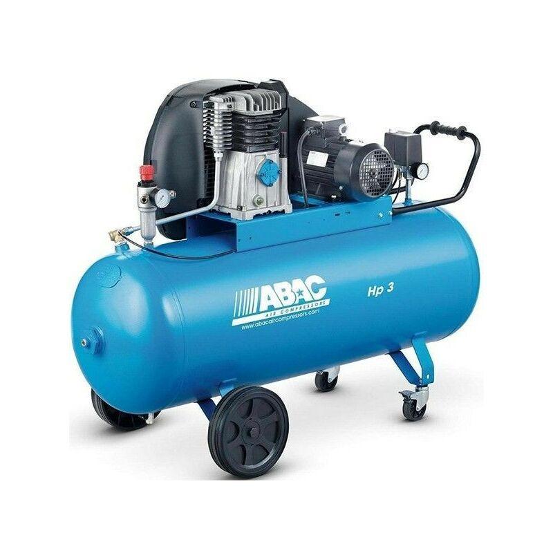 ABAC Compresseur d'air à piston 3 CV 200 litres ABAC