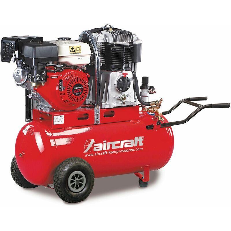 AIRCRAFT Compresseur de construction mobile moteur essence 14 bars - 100 l Aircraft