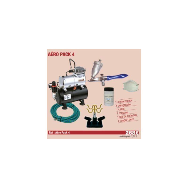 Multirex - Compresseur + Sableur + Sable + masque + c ble + Support Aérographe