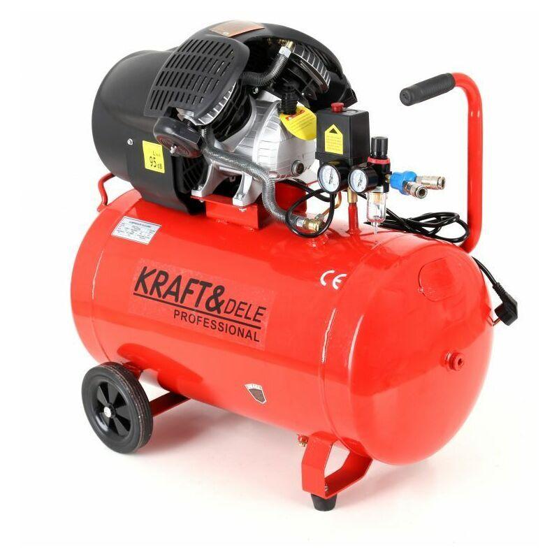 Hucoco - DCRAFT - Compresseur à huile - Capacité 100 L - Alimentation 230V/50Hz