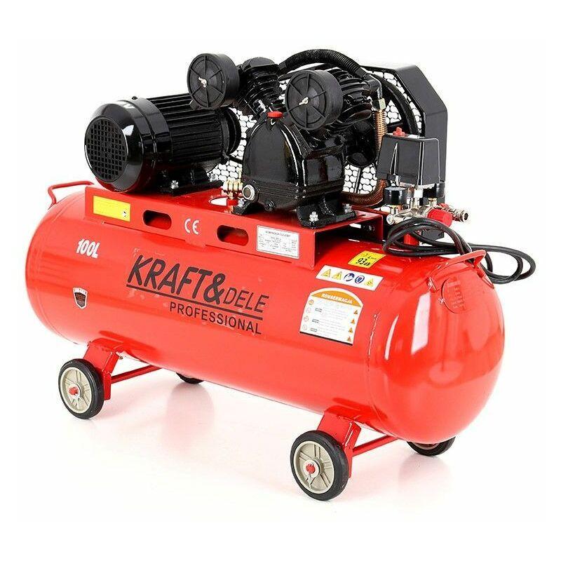 Hucoco - DCRAFT - Compresseur à huile - Capacité 100 L - Alimentation 380V/50Hz