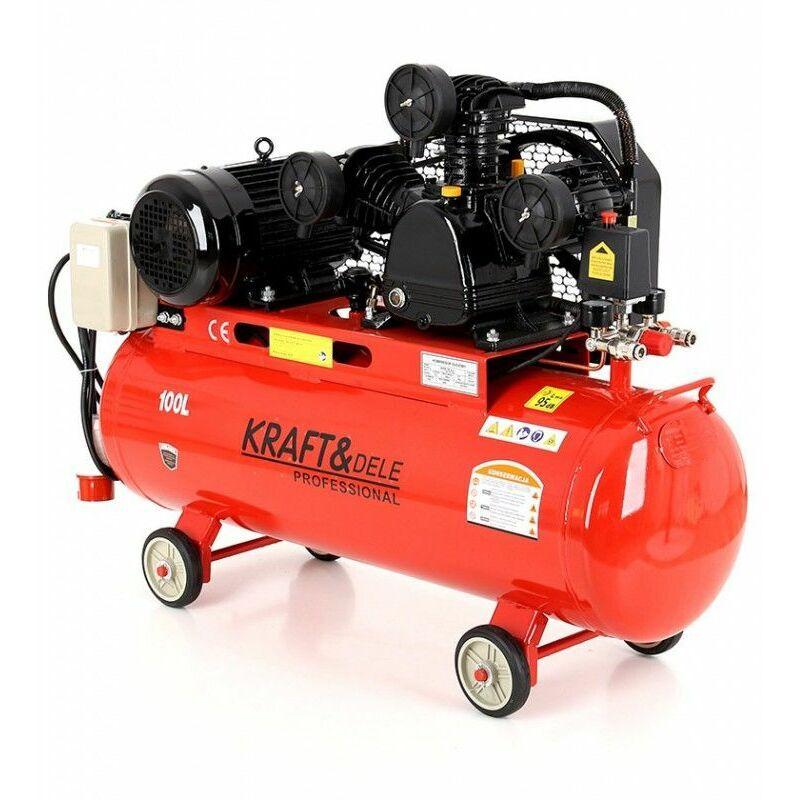 Hucoco - DCRAFT - Compresseur à huile - Capacité 100 L - Alimentation 400V/50Hz