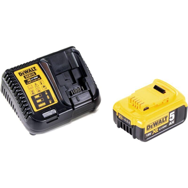 Dewalt DCB 184 Batterie 18 V 5 Ah / 5000 mAh XR Li-Ion + Chargeur Dewalt DCB