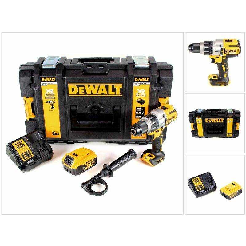 DeWalt DCD 996 P1 Perceuse visseuse à chocs sans fil 18V 95Nm Brushless + 1x