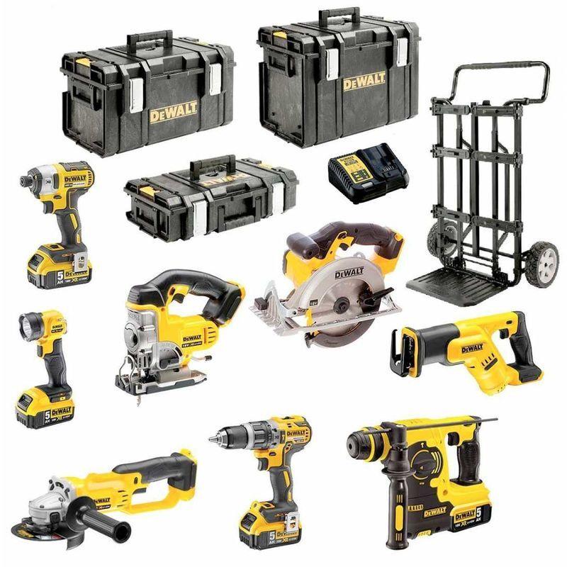 DeWALT Kit DCK XP8MP4 (DCD796 DCG412 DCL040 DCS331 DCS391 DCS387 DCF887 DCH253