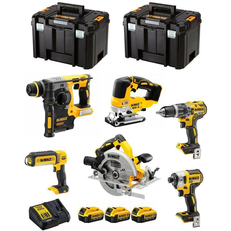DeWALT Kit DCK699M3T PRO (DCD796 DCS570 DCS334 DCF887 DCH273 DCL050 3 x 4,0 Ah