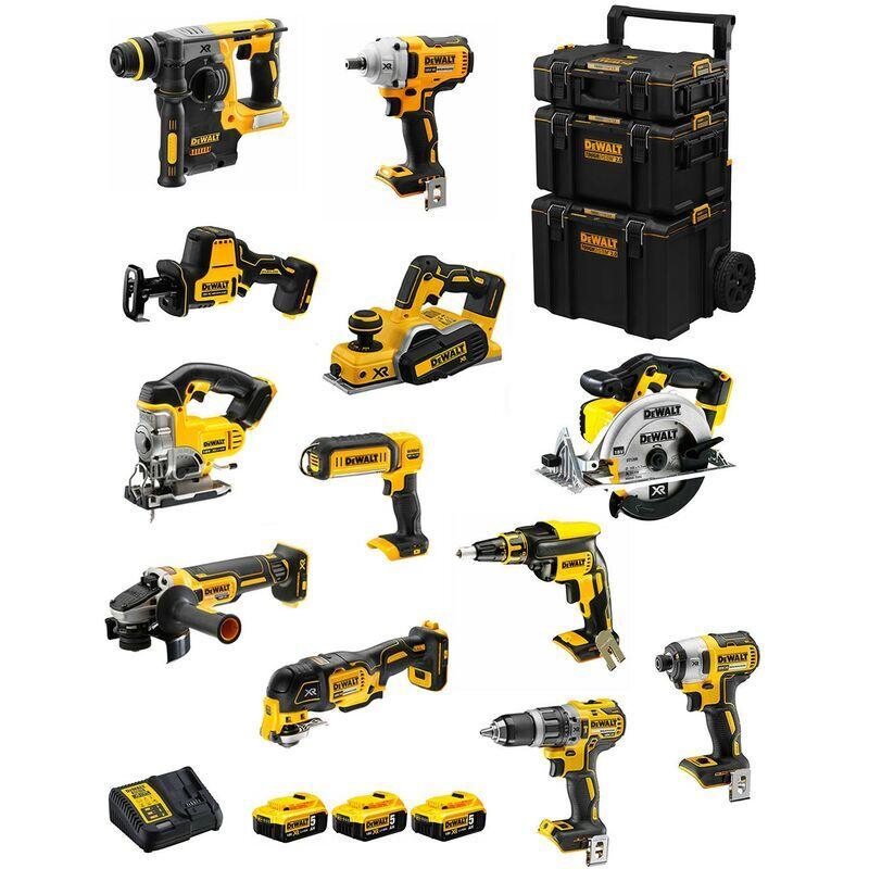 DeWALT Kit DWK1200 (DCD796+DCH273+DCG405+DCF887+DCF894+DCS331+DCS391+