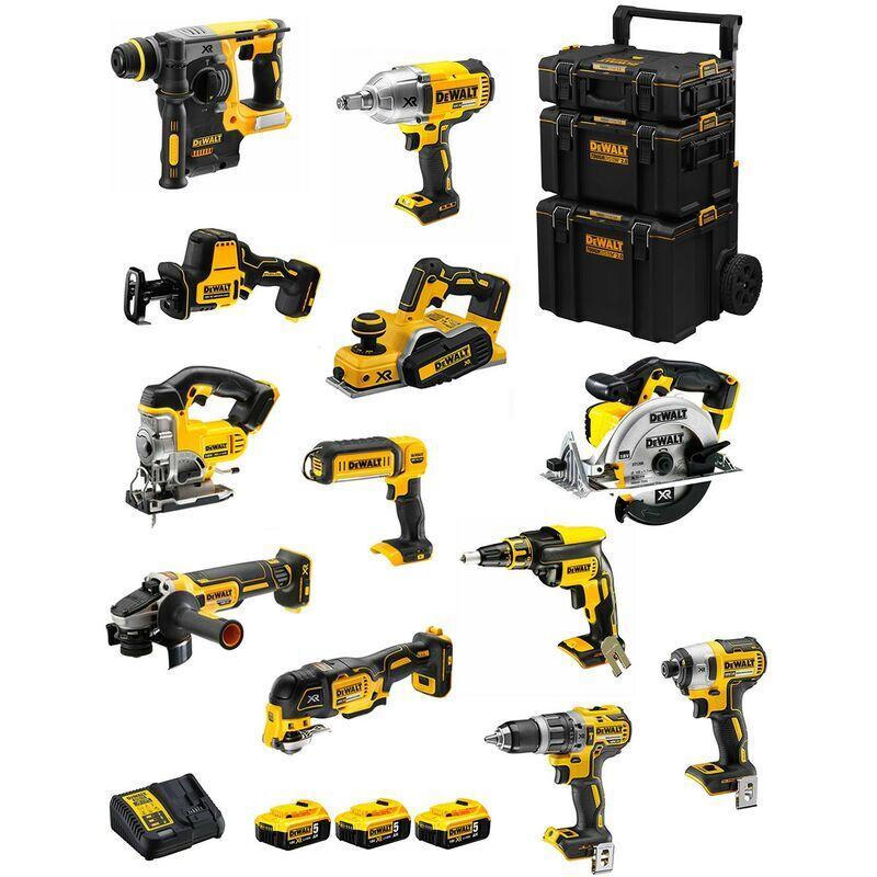 DeWALT Kit DWK1202 (DCD796+DCH273+DCG405+DCF887+DCF889H+DCS331+DCS391+
