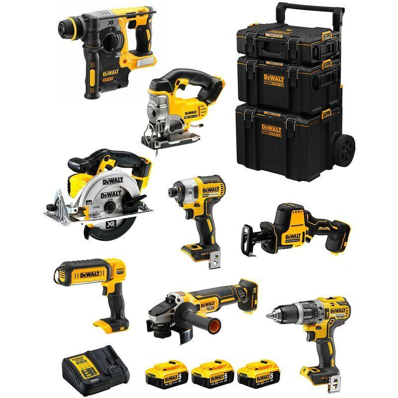DeWALT Kit DWK804 (DCD796 DCH273 DCG405 DCF887 DCS331 DCS369 DCS391 DCL050 3 x