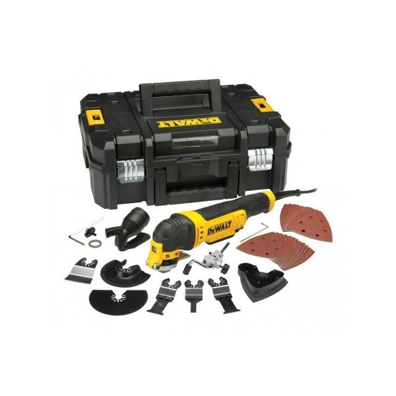 DEWALT Multi-Cutter DEWALT 300 W Filaire + Accessoires Coffret T-STAK - DWE315KT