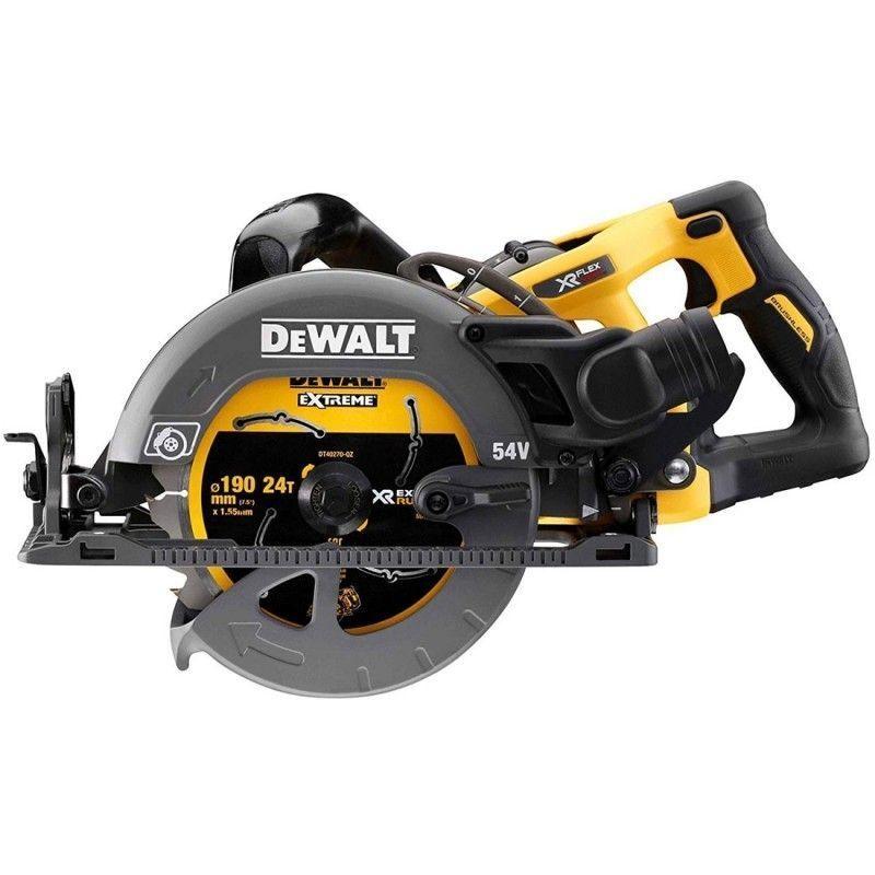 DEWALT Scie circulaire construction XR FLEXVOLT 54V BL 190 MM Dewalt DCS577N-XJ 484.28