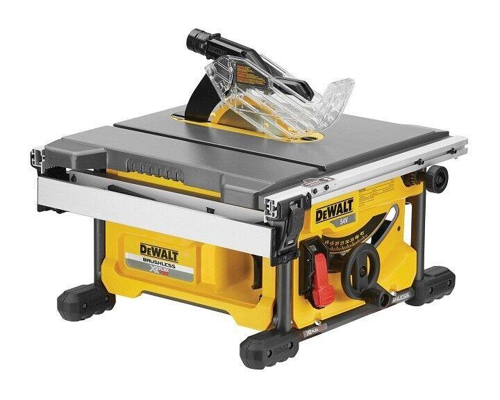 DEWALT Scie à table FLEXVOLT - 54 V XR - Sans batterie, ni chargeur - DCS7485N - Dewalt