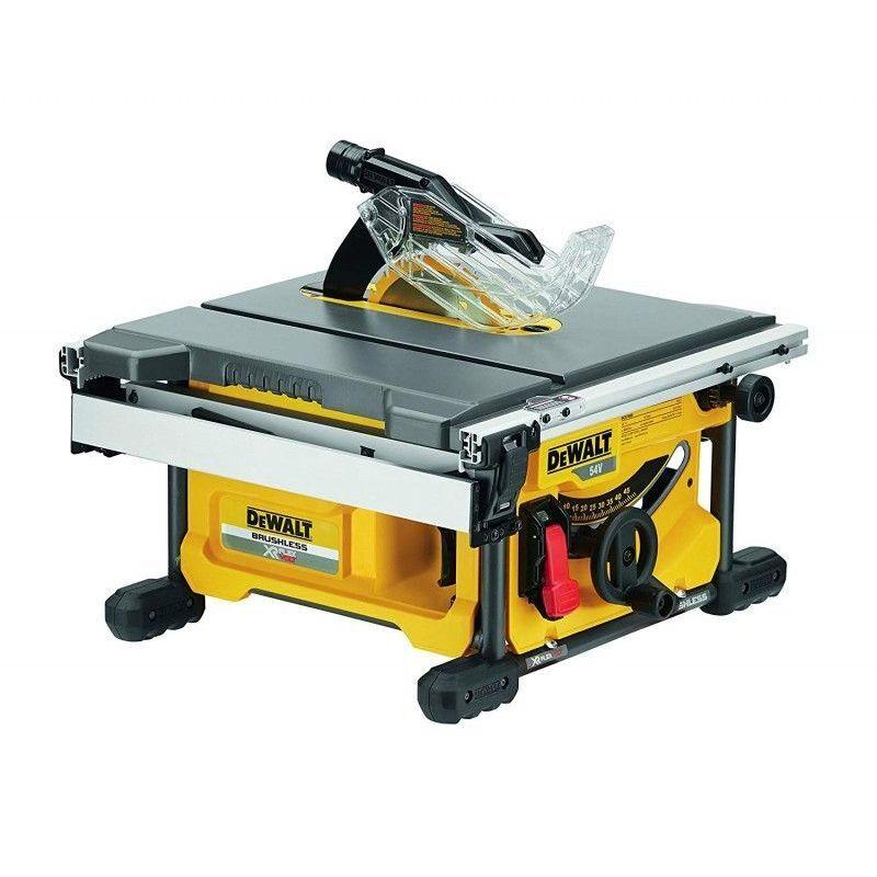 DEWALT Scie à table DEWALT - FLEXVOLT - 54 V XR - Sans batterie, ni chargeur - DCS7485N