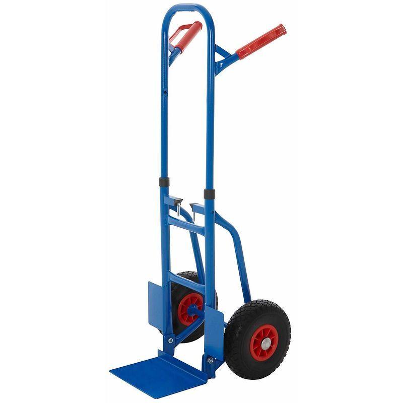 CERTEO Diable pliable – Charge max : 250 kg – H x L x P 835 x 435 x 495 mm - Coloris: