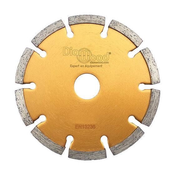 Diamwood - Disque diamant à déjointoyer D. 230 x Al. 22,23 x Ht. 7 x ép. 6,4 mm