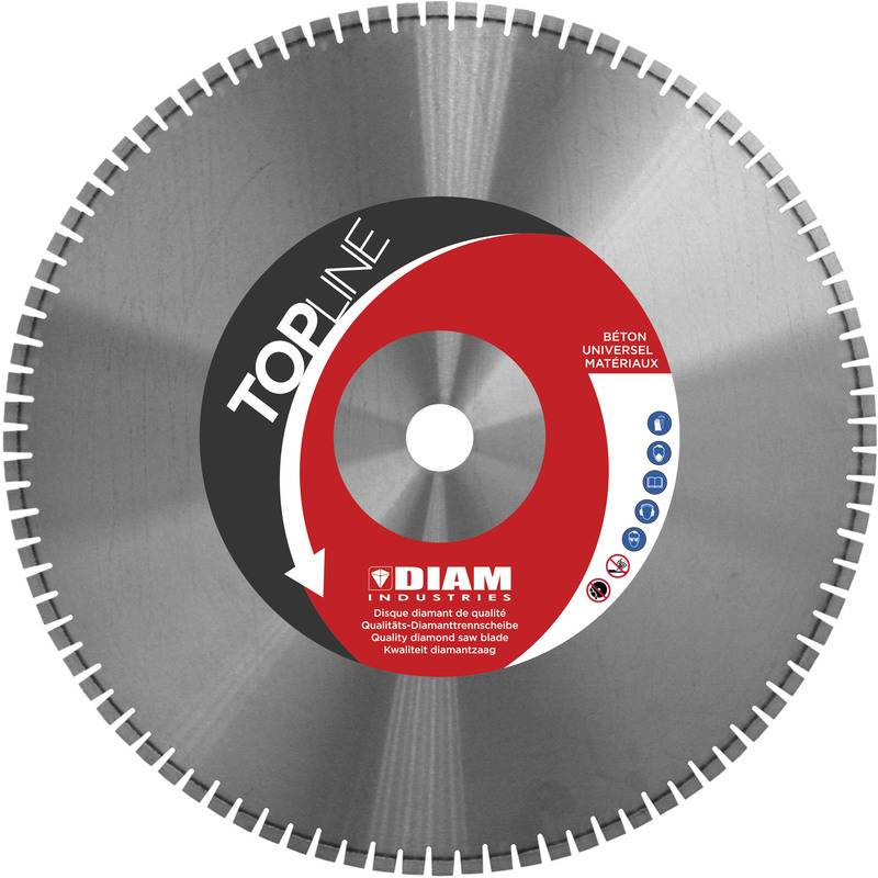 Diam Industries - DISQUE DIAMANT LASER SCIE MURALE Ø 650/50 H 12 mm