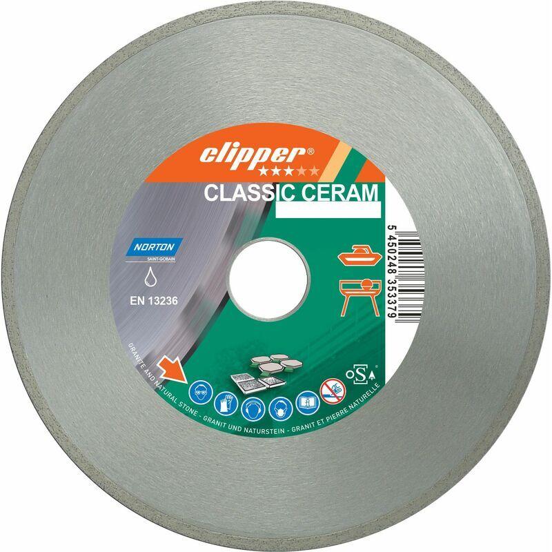 NORTON Disque Diamant Norton Classic Ceram Ø 115 Mm Alésage 22.23 - 70184626825 - -