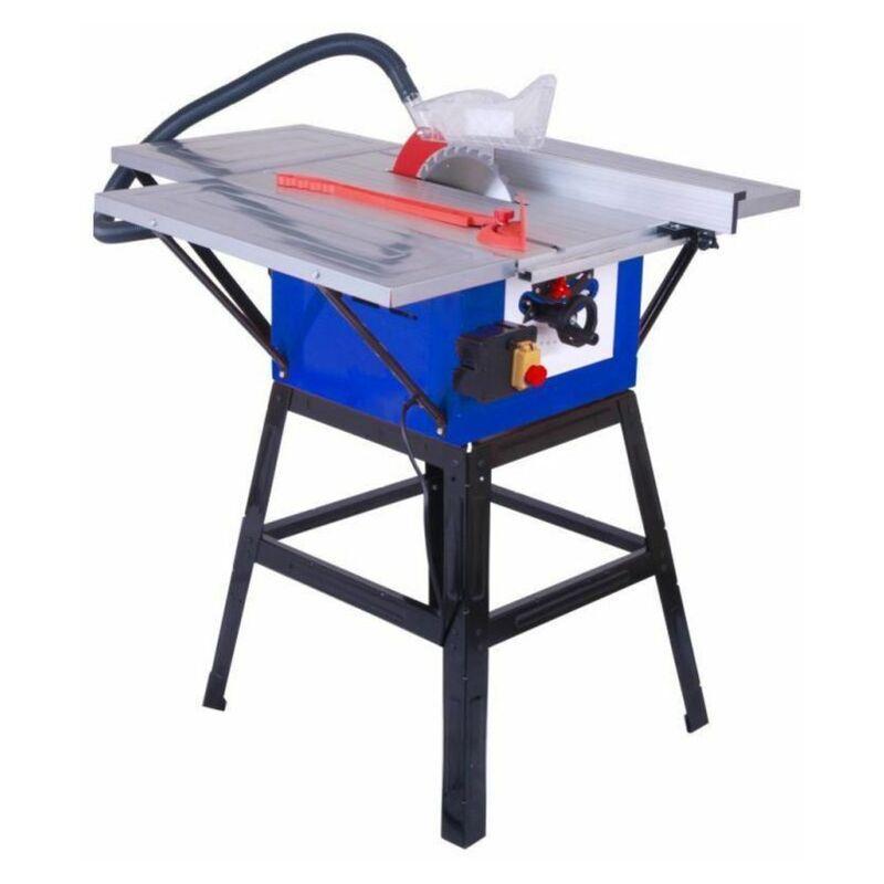 Hucoco - DTOOLS   Scie sur table électrique avec piétement   Puissance 1600 W