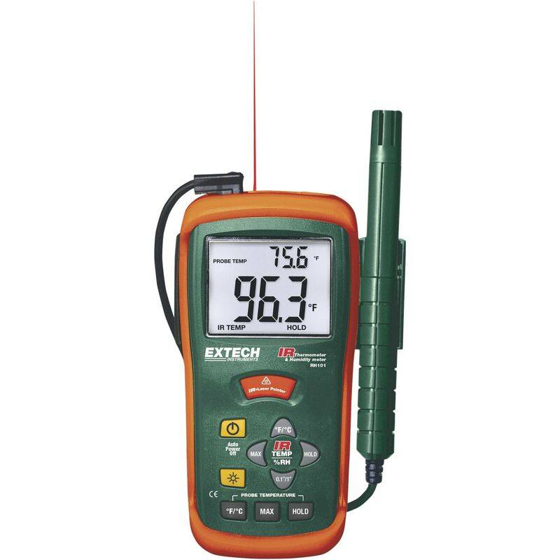 EXTECH Thermo-hygromètre infrarouge RH101 Q55298