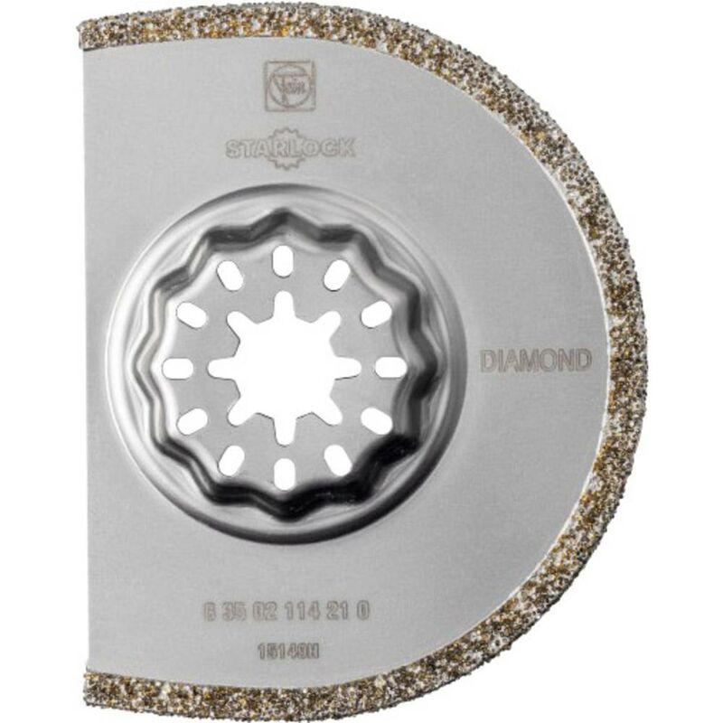 Fein 63502114230 Diamant Lame de scie segmentée 75 mm 5 pc(s)