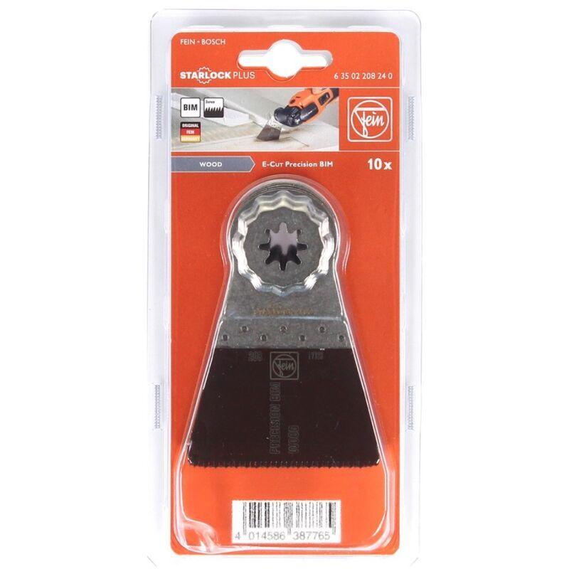 FEIN Lame de scie de précision E-Cut BIM Starlock Plus, 10 pièces 50 x 65 mm