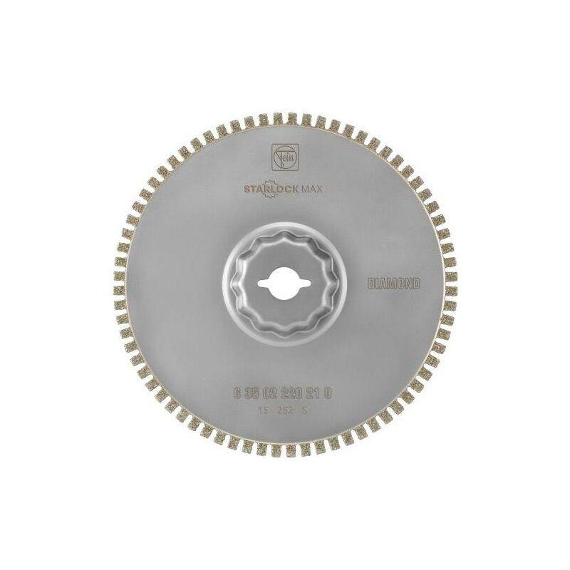 Fein 63502220210 Diamant Lame de scie circulaire 1.2 mm 105 mm 1 pc(s) W746521