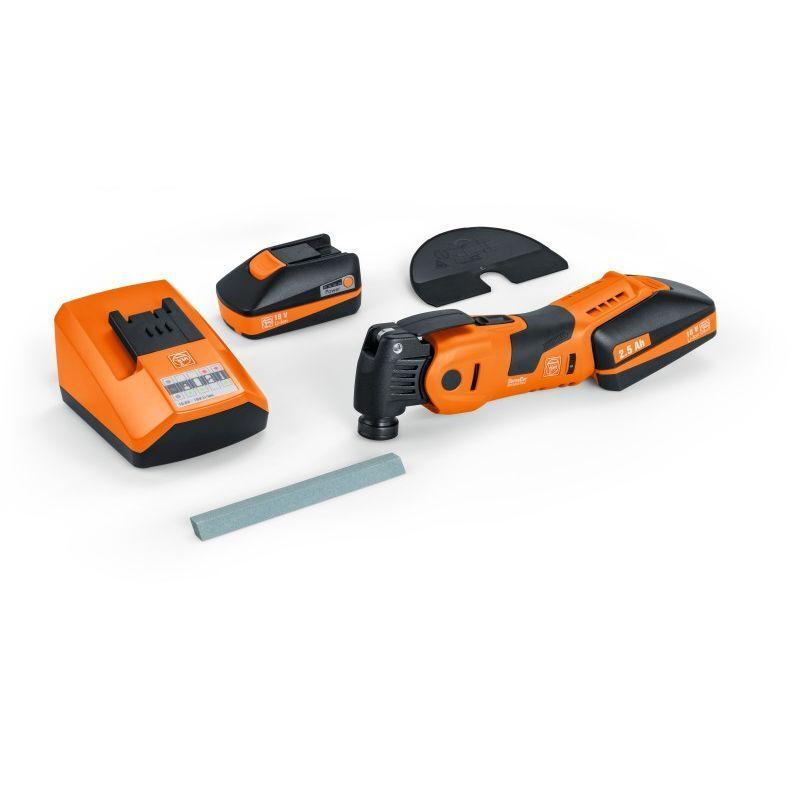 Fein Machine oscillante sans fil - Batteries AFSC 1.7 QC / 18 V - 71291862000