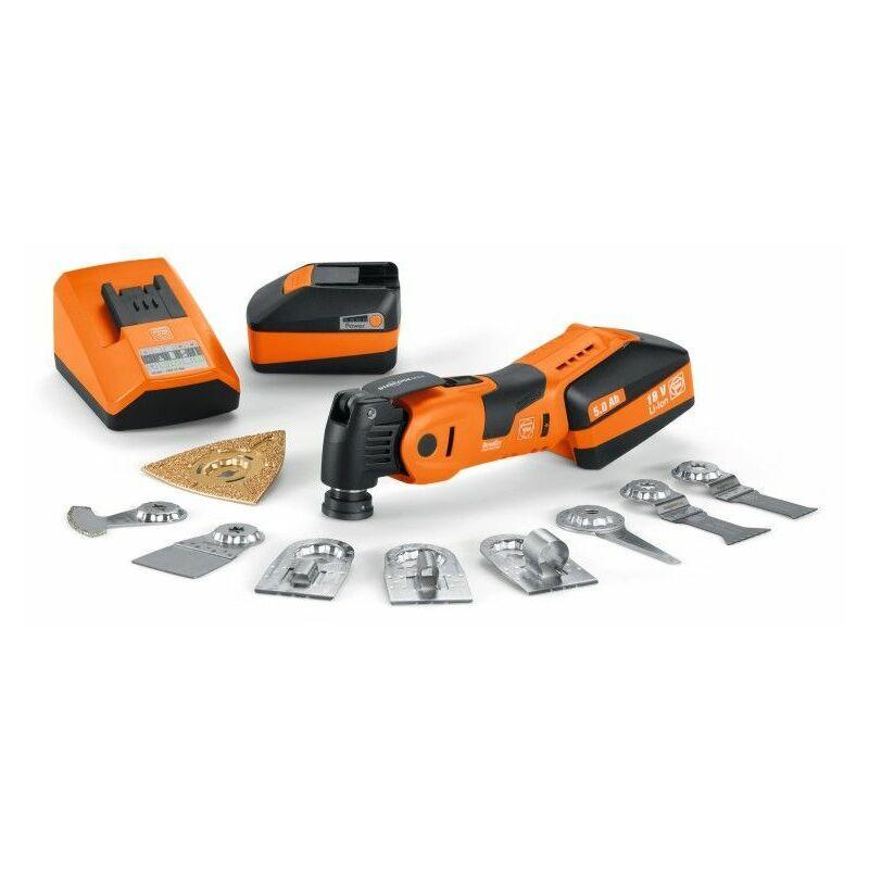 Fein Machine oscillante sans fil - Batteries AFSC 18 QSL / 18 V - 71292768000