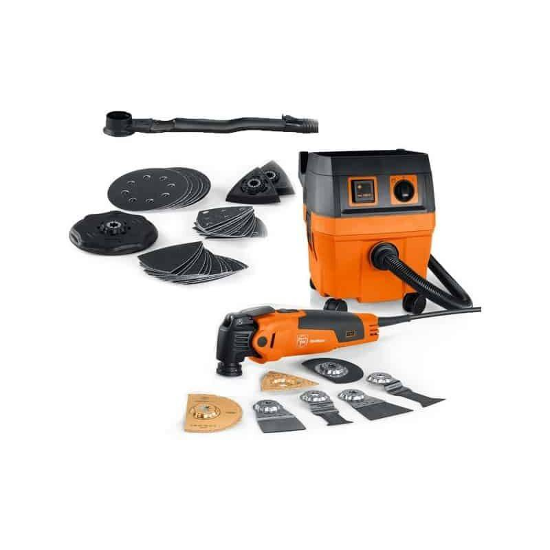 FEIN Pack MultiMaster FMM350Q SL Top + Aspi Dustex 25L - 72295263000