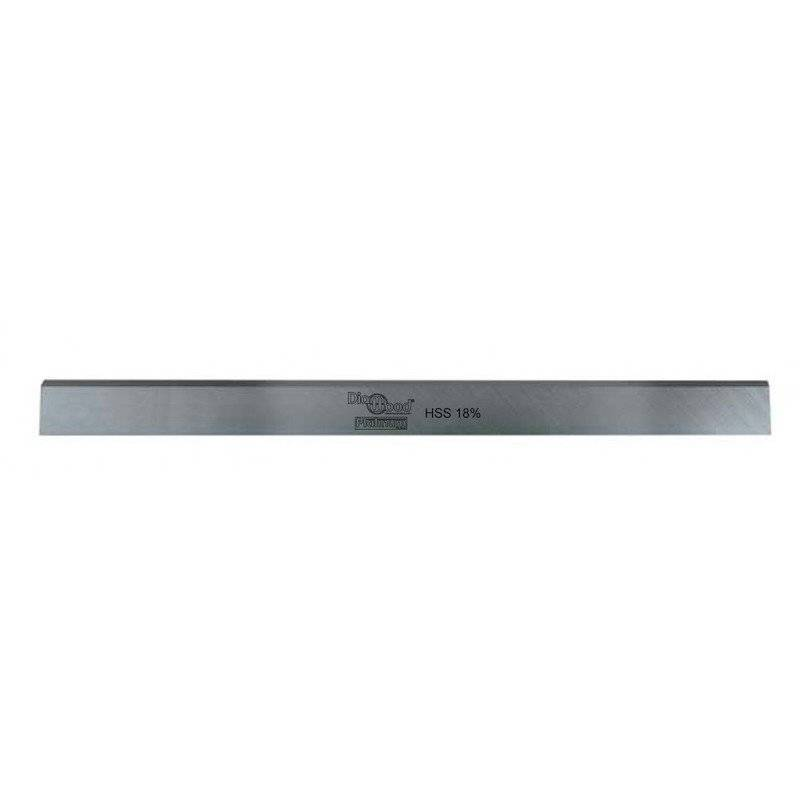 PRESTAMAT Diamwood Platinum - Fer de dégauchisseuse/raboteuse PRO 410 x 25 x 2.5 mm acier