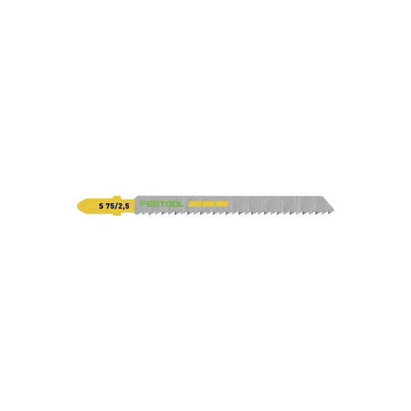 FESTOOL Lame de scie sauteuse S 75/2,5/100 FESTOOL - 204258