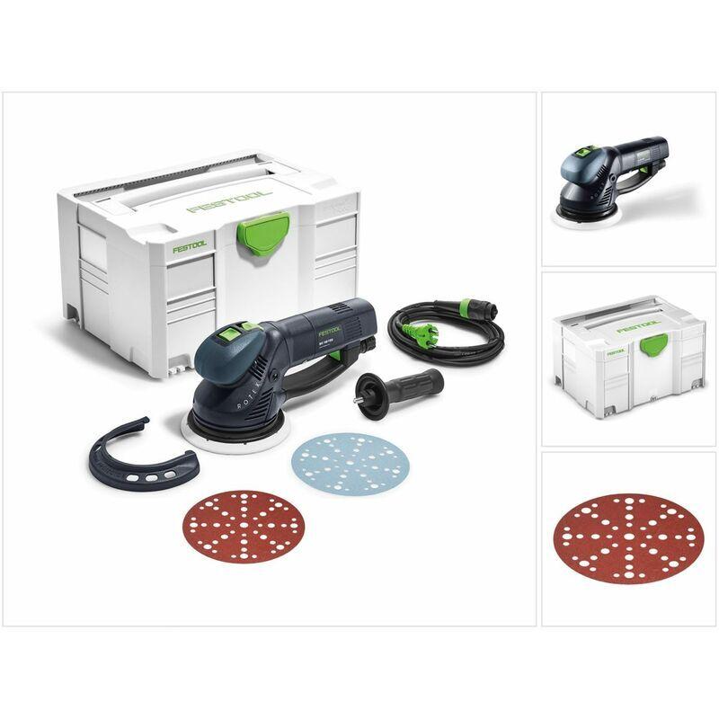Festool RO 150 FEQ-Plus ROTEX Ponceuse excentrique 720 W + Coffret de transport