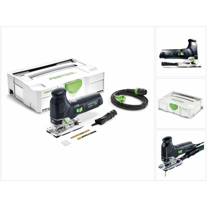 Festool PS 300 EQ-PLUS Scie sauteuse 720 W avec Coffret Systainer + Accessories